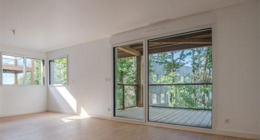 Appartement neuf programme Chlorophylle à Nantes