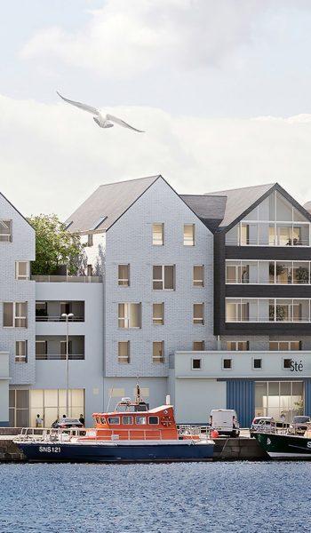 Programme immobilier Quai Salvadore à Saint-Malo