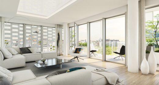 Intérieur appartement programme Inside à Rennes