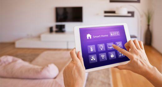 Tablette pour logement connecté