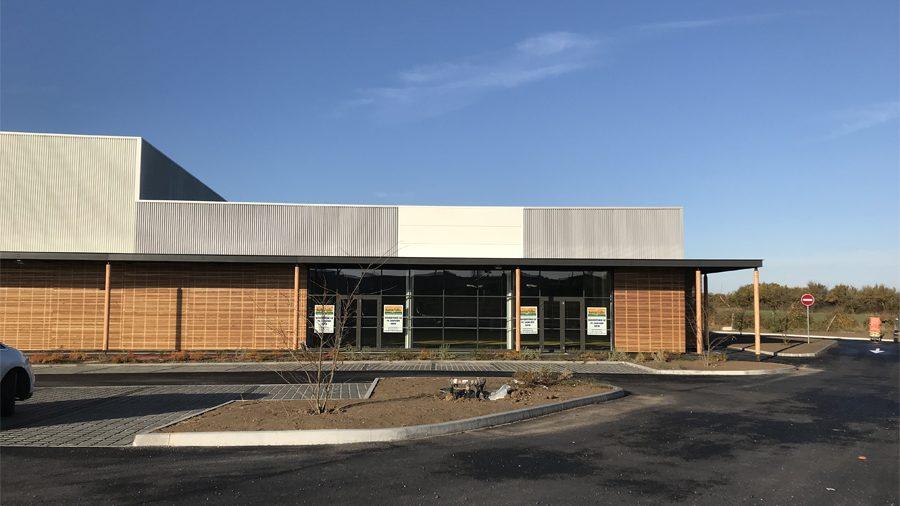 Centre commercial Europ à Pornic, local de Bureau Vallée