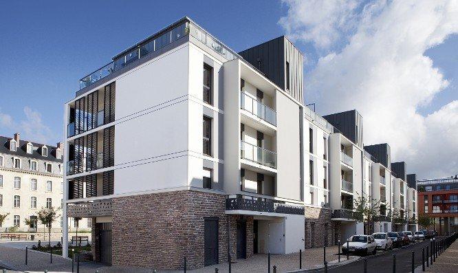 Immeuble d'habitation à Rennes - Le Parnasse Immeuble résidentiel Le Parnasse à RennesImmeuble d'habitation à Rennes - Le Parnasse Previous Next LE PARNASSE 2009 - RENNES