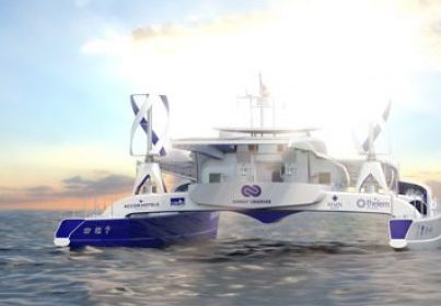 Lamotte Promoteur supporter officiel d'Energy Observer, le premier navire hydrogène autour du monde