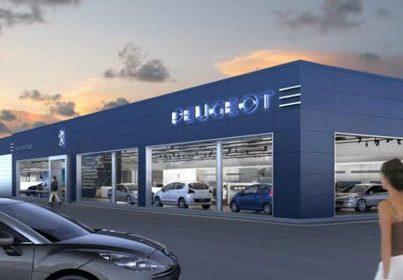 Le Groupe Lamotte annonce la livraison d'une nouvelle enseigne Blue Box Peugeot à Rezé
