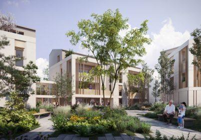 Lamotte consolide son développement en Rhône Alpes : deux concours gagnés, de nombreux projets de logements et résidences services seniors.