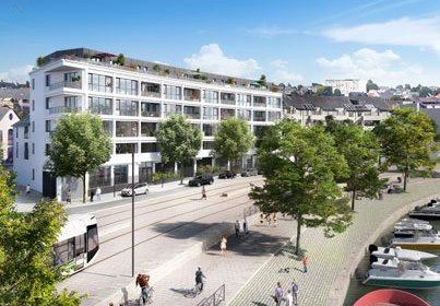 À Nantes, face à l'emblématique Île de Versailles, Lamotte Promoteur annonce le lancement de Quai 37