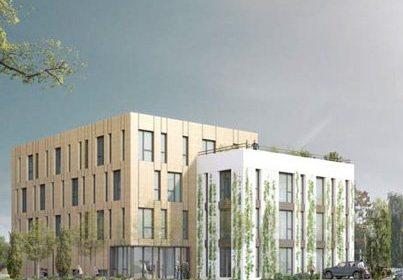 Le Groupe Lamotte démarre le chantier du nouveau siège social de NET PLUS à Cesson-Sévigné (35)